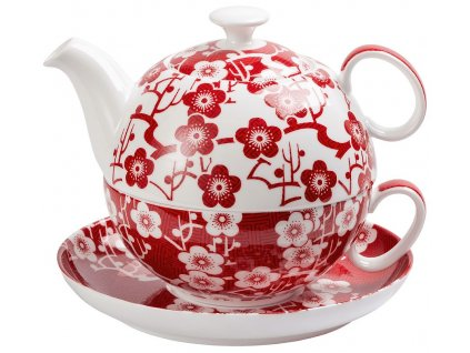 Sakura - bone china tea for one, čajová  porcelánová souprava 0,3 l/0,5 l
