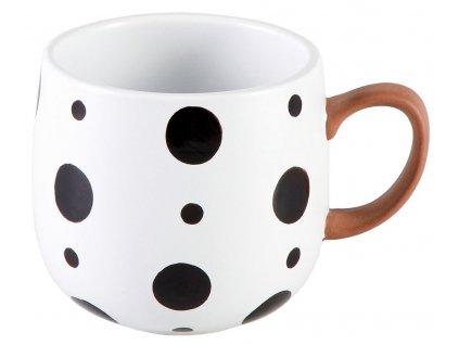Hedda - keramický hrnek 0,35 l, puntíky