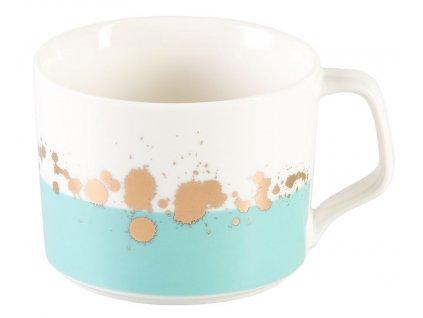 Alcinda - porcelánový hrnek 0,35 l, modrý