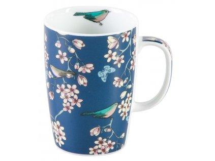 Nessie - porcelánový hrnek 0,25 l, modrý