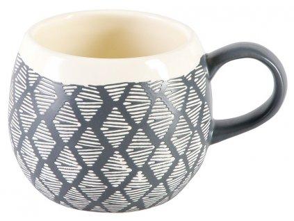 Jarla - keramický hrnek 0,3 l, šedý