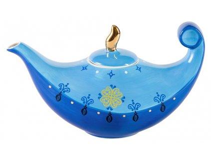 Sahir - keramická čajová konvička 1,45 l, modrá,  orientální motiv