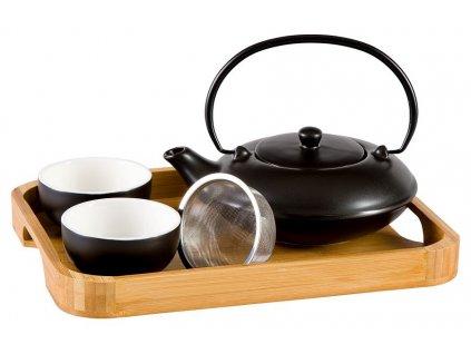 Yamina -  porcelánová čajová souprava