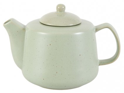 Hilma - porcelánová konvička 1,1 l, zelená
