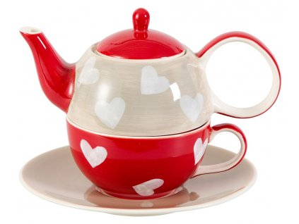 tea-for-one-corazon-motiv-se-srdicky-sedo-bilo-cervena-kombinace