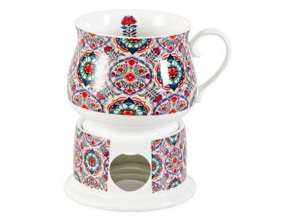 Helma - porcelánový hrnek s ohřívákem 0,35 l