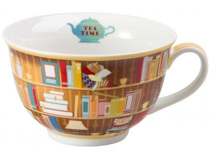 Harold - jumbo porcelánový hrnek 0,45 l, knihovna