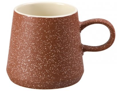 Runa - keramický hrnek 0,35 l, hnědý