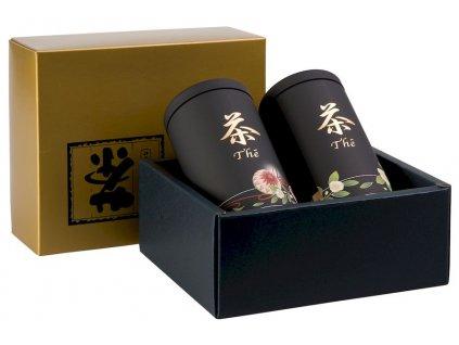 Anakusa - sada plechových japonských dóz 2x 100 g
