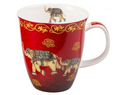 Nelson - Fine Bone China porcelánový hrnek 0,35 l, slon