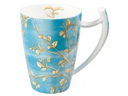 Enya - Fine Bone China porcelánový hrnek 0,5 l, modrý