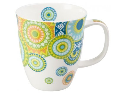 Ramon - Fine Bone China porcelánový hrnek 0,35 l, mandaly