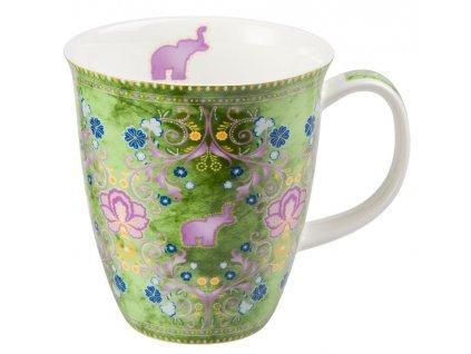 Rani - Fine Bone China porcelánový hrnek 0,35 l, slon