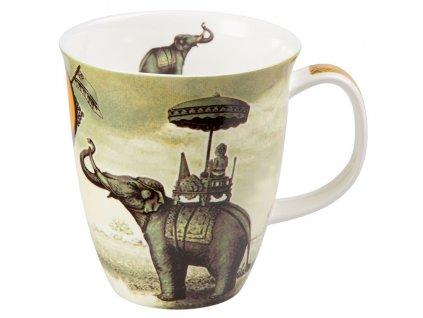 Sepia Elephant - Fine Bone China porcelánový hrnek 0,35 l, slon