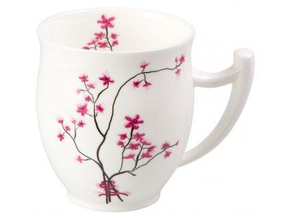 Cherry Blossom - Fine Bone China porcelánový hrnek 0,35 l, třešeň