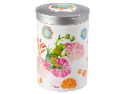 Fritz - Fine Bone China porcelánová dóza 100 g, žába