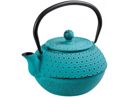 Nong - litinová čajová konvice 0,9 l, tyrkysová