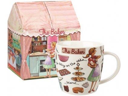 The Baker, cukrářka, pekařka - porcelánový hrnek 0,4 l v dárkové krabičce