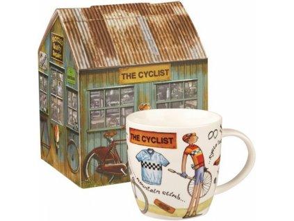 The Cyklist, cyklista - porcelánový hrnek 0,4 l v dárkové krabičce