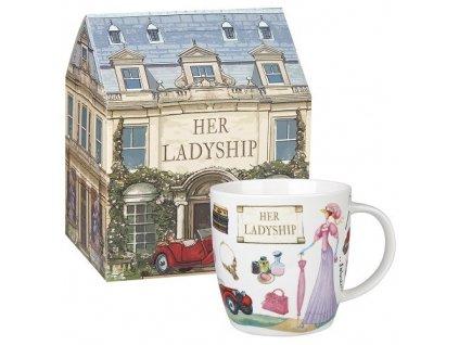 Her Ladyship - porcelánový hrnek 0,4 l v dárkové krabičce