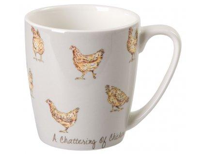 Kuře - Fine China, porcelánový hrnek 0,3 l