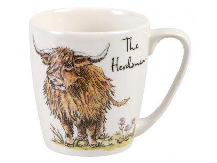 The Herdsman - Fine China, porcelánový hrnek 0,3 l, skot pastýř