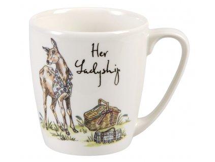 Her Ladyship - Fine China, porcelánový hrnek 0,3 l, Její Jasnost Laň