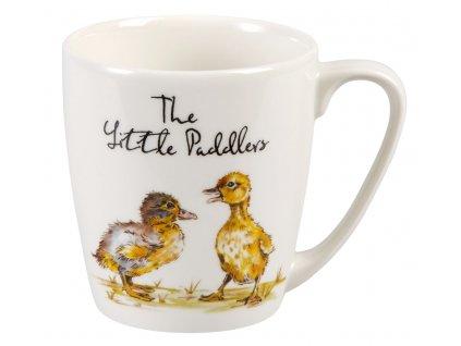 The Little Paddlers - Fine China, porcelánový hrnek 0,3 l, kačenka, vodák
