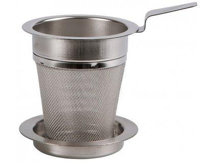 Čajové nerezové sítko do konvičky Tea for one ø 5 cm