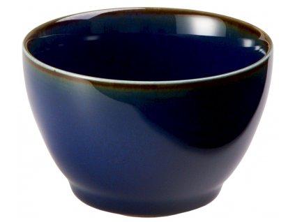 Banya - porcelánový hrnek bez ucha, 0,18 l, modrý