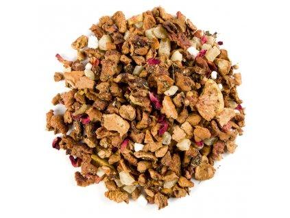 Radostný fík s růžemi - aromatizovaný sypaný ovocný čaj 80 g
