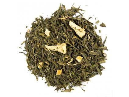 Ananas a Mango BIO - aromatizovaný sypaný zelený čaj 80 g