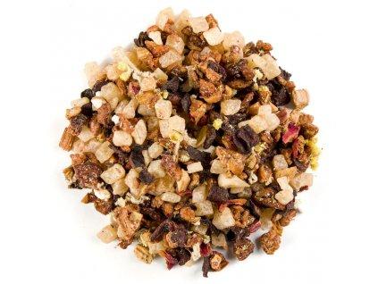 Svěží rebarbora - aromatizovaný sypaný ovocný čaj 80 g