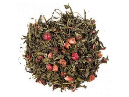 Kouzelná chvíle - aromatizovaný sypaný zelený a bílý čaj 80 g