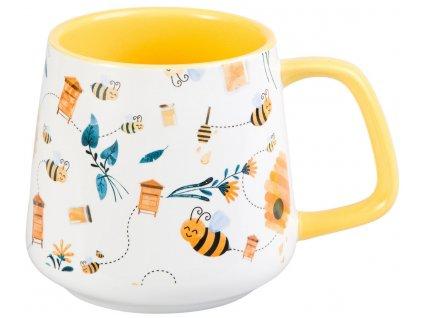 Carla - porcelánový hrnek 0,35 l, včela