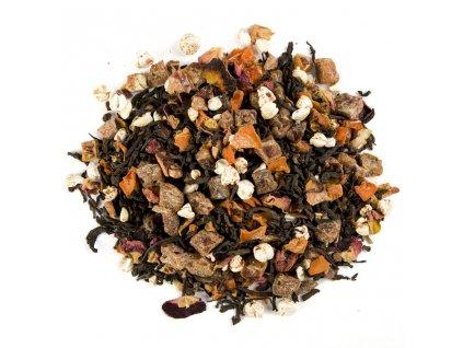 Pu Erh s granátovým jablkem - aromatizovaný sypaný černý čaj 80 g