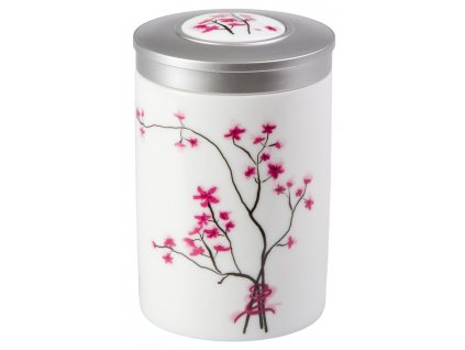 Cherry Blossom - Fine Bone China porcelánová dóza 100 g, třešeň