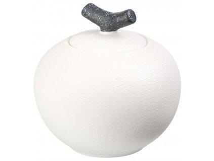 Emi - porcelánová dóza 300 ml, bílá