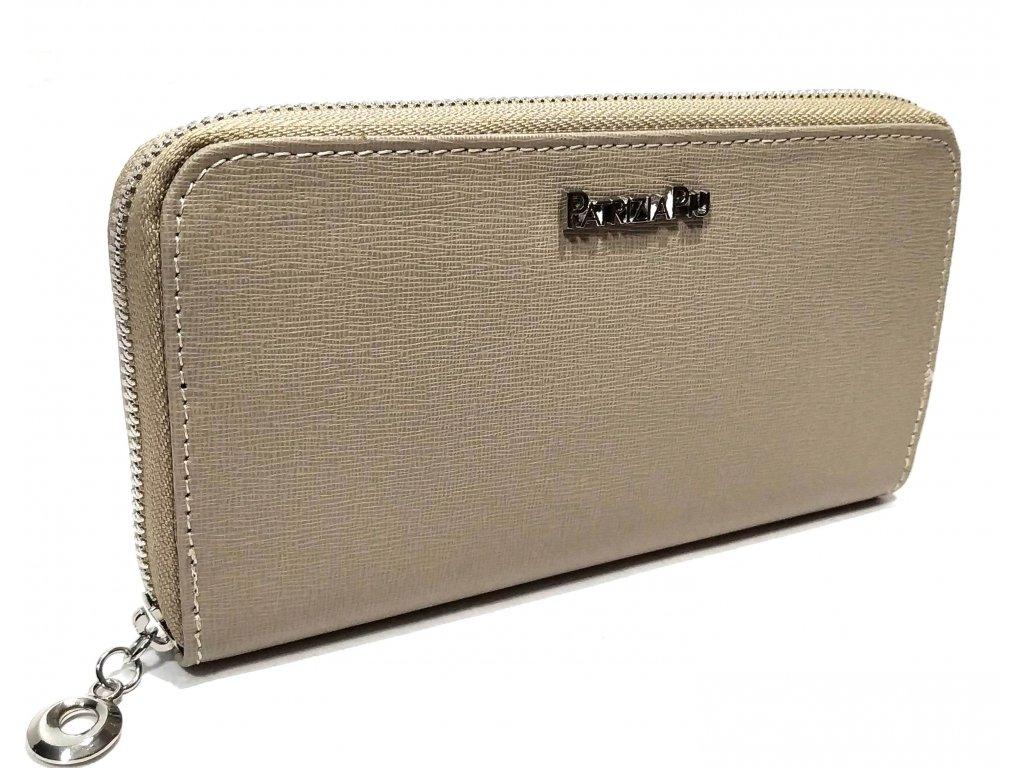 Patrizia Piu dámská zipová peněženka KM098 z kůže