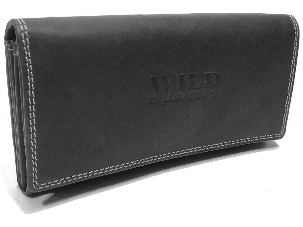 Wild dámská kožená peněženka Magnum černá