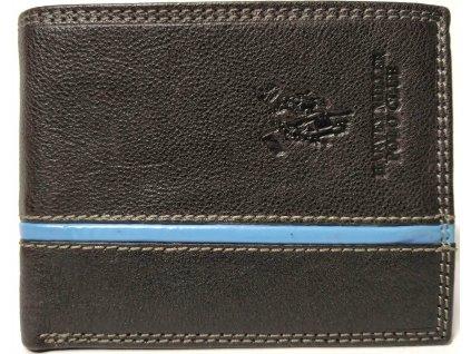 Pánská peněženka Harvey Miller černá kůže