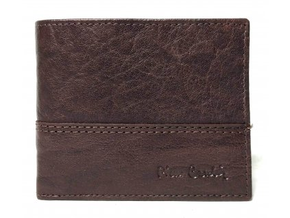 Malá pánská kožená peněženka Pierre Cardin TILAK24 8824 hnědá RFID