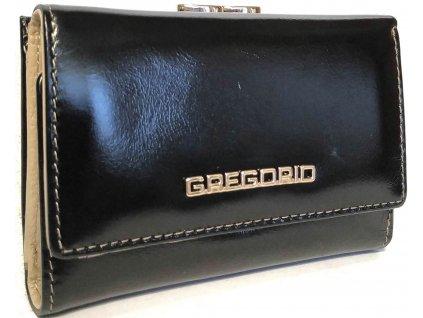 Gregorio malá černá dámská peněženka ZTW066 černá