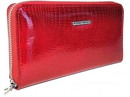 Dámská peněženka Jennifer Jones zipová Maureen2 červená
