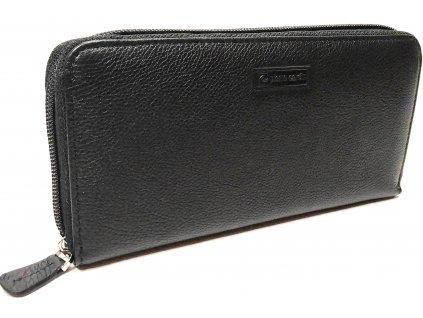 Pierre Cardin dámská zipová peněženka WO18 kožená černá