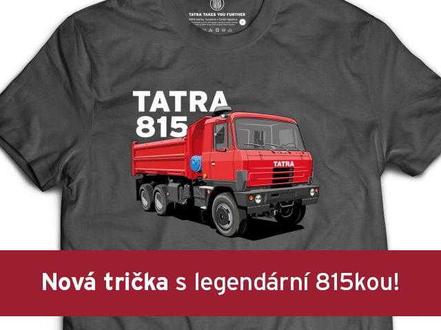 Nová kolekce pánksých triček