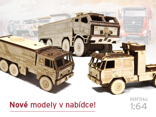 Nové dřevěné modely