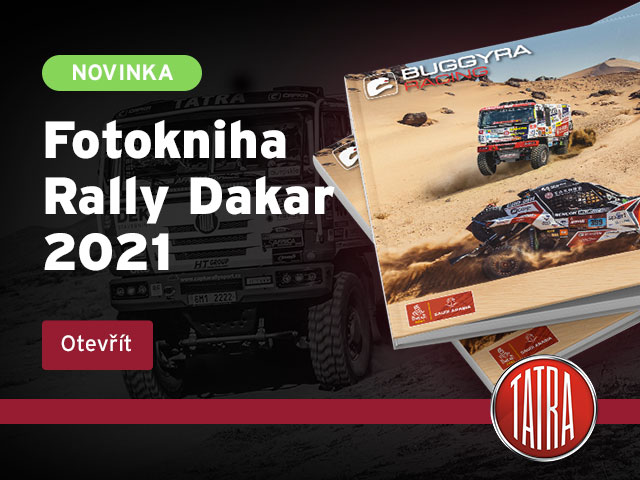 Nová fotokniha Dakar 2021