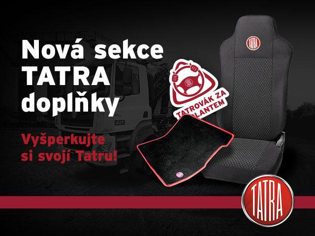 Nově vznikla sekce TATRA doplňky.