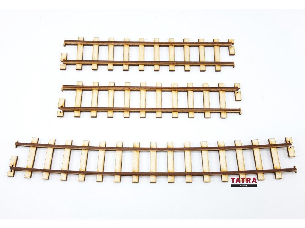 Dřevěné koleje